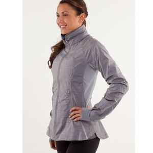 Lululemon Run Make a Break Jacket Twisted stripe